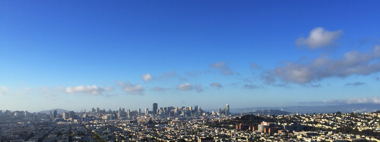 Skyline from the Mission